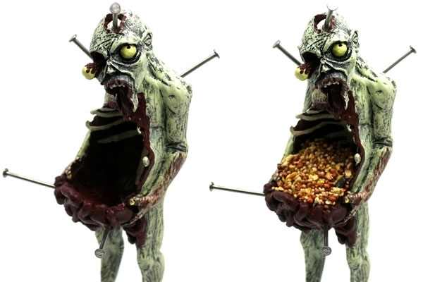 Zombie Bird Feeders
