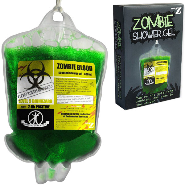 Zombie Blood Shower Gel