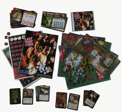 Zombie Board Game Last Night on Earth