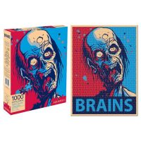 Zombie Brains 1,000-Piece Puzzle