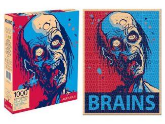 Zombie Brains 1,000-Piece Puzzle