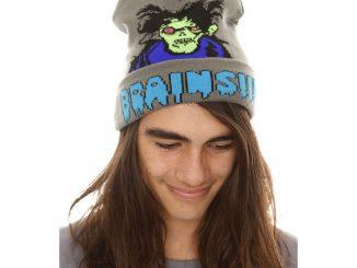 Zombie Brains Knit Winter Hat
