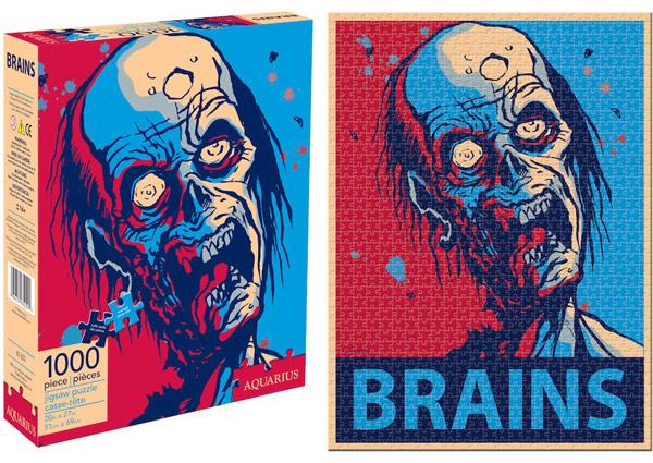 Zombie Brains Puzzle