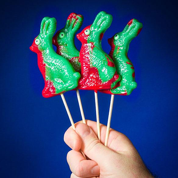 Zombie Bunny Lollipop