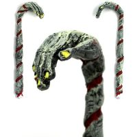 Zombie Candy Cane Christmas Ornament