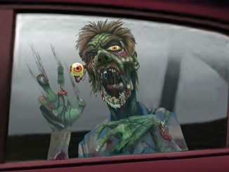 Zombie Car Window Sticker