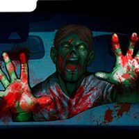 Zombie Car Windshield Automotive Shade