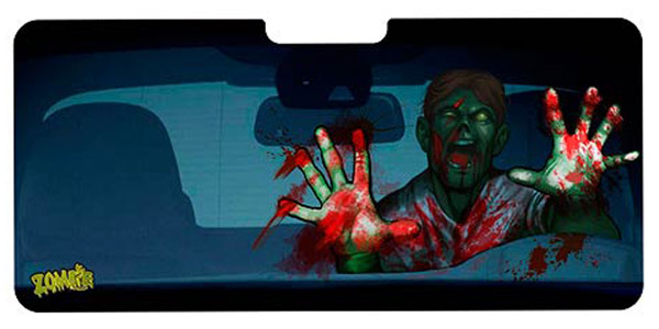 Zombie Car Windshield Shade