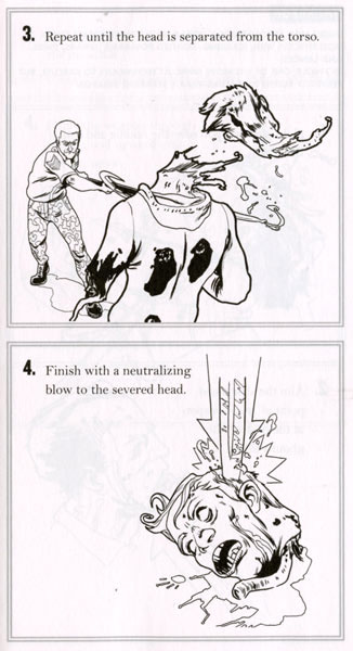 Zombie Combat Book
