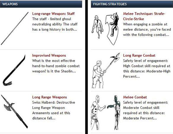Zombie Combat Club Manual