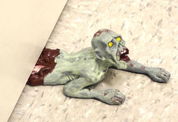 Zombie Crawling Doorstop