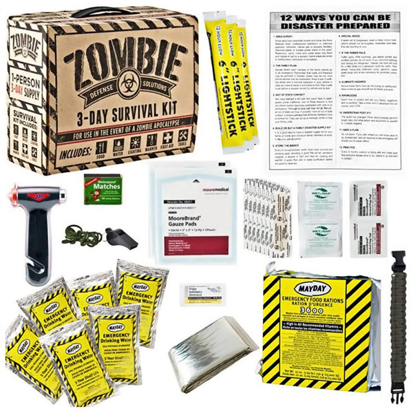 Zombie Defense Solutions Survival Kit