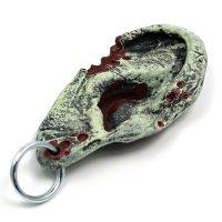 Zombie Ear Keychain