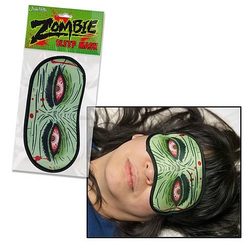 Zombie Eyes Polyester Sleep Mask