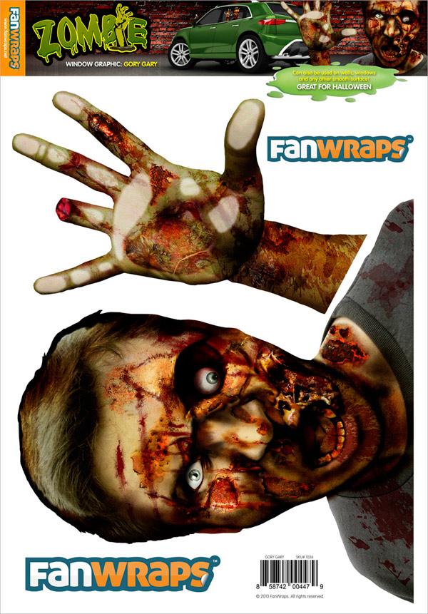 Zombie Fan Wraps