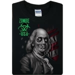 Zombie Franklin T-Shirt