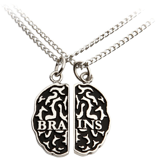 Zombie Friendship Necklace Set