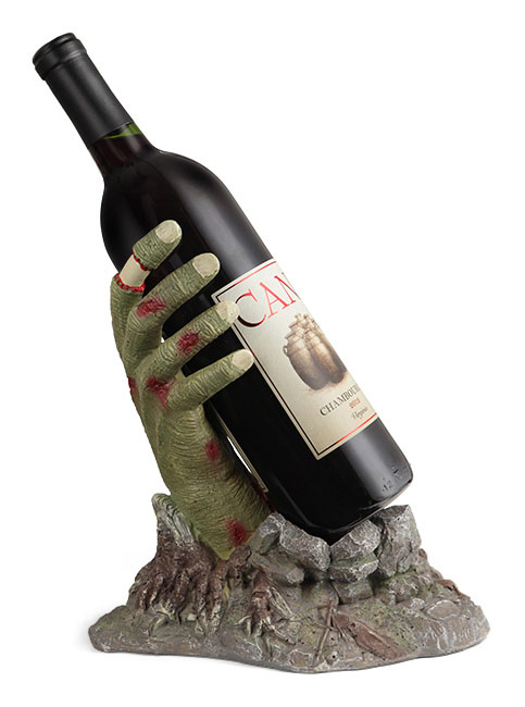 Zombie Hand Wine Bottle Stand