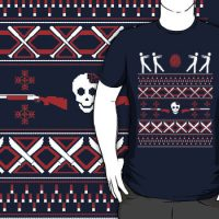Zombie Holiday Sweater Shirt