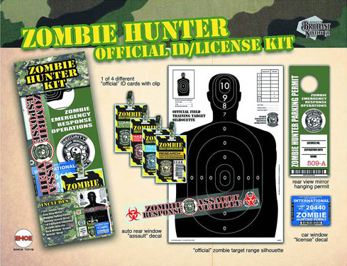 Zombie Hunter Novelty Set