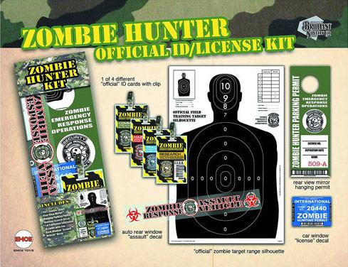 Zombie Hunter Novelty Set