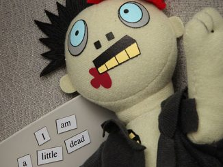 Zombie Magnetic Poetry Kit