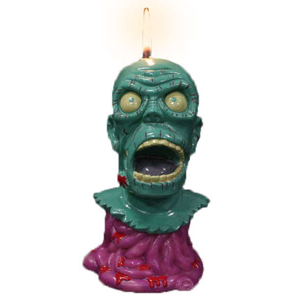 Zombie Melting Candle