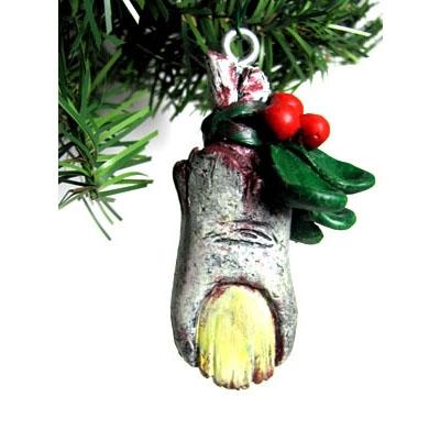 Zombie Mistletoe Ornament