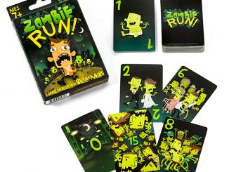 Zombie Run Card Game