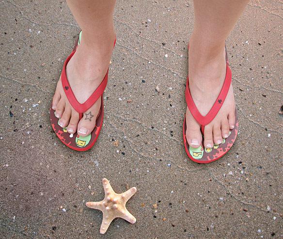 Zombie Sandals