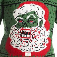Zombie Santa Christmas Sweater
