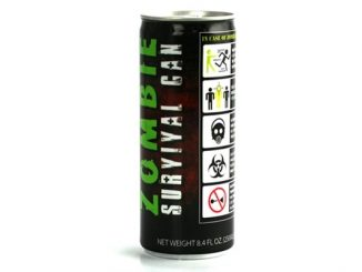 Zombie Survival Can - Energy Drink