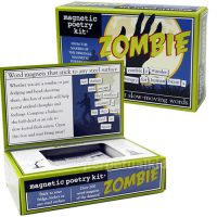 Zombie Word Fridge Magnets