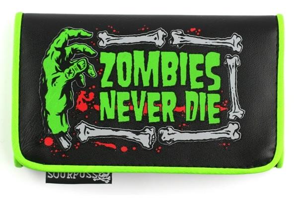 Zombies Never Die Wallet