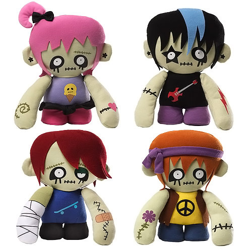 Zombies Plush Set