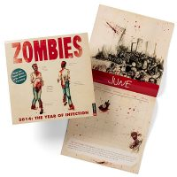 Zombies The Year of Infection Calendar