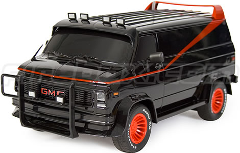 The A-Team R/C Van