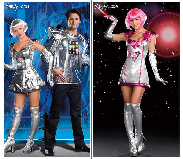 sc 1 st  GeekAlerts & Light-Up Adult Space Robot Costumes