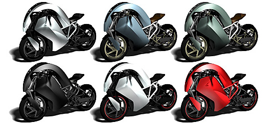Agility Saietta R Electric Motorcycle