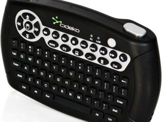 Wireless Mini Keyboard with Accelerometer