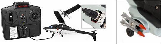 Airwolf R/C Helicopter