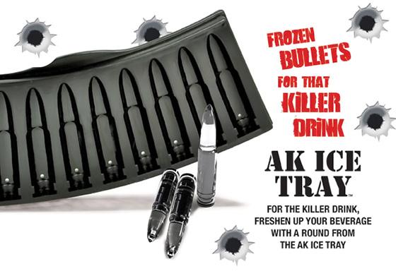 AK47 Bullet Ice Cube Tray