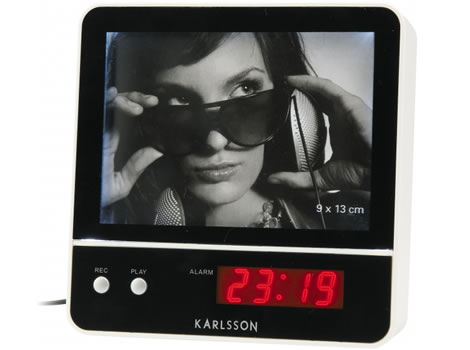 LED Alarm Clock with Voice Recording