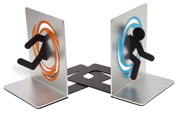 Aluminum Portal Bookends