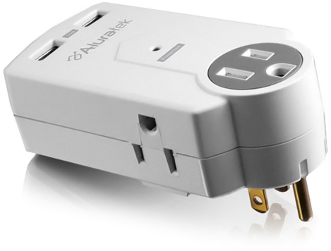 Aluratek Dual USB Charging Station