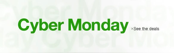 Amazon.com Cyber Monday Deals 2012
