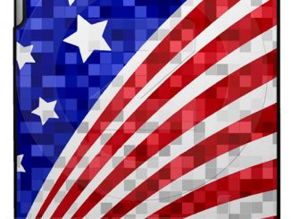 American Flag Apple iPad Case
