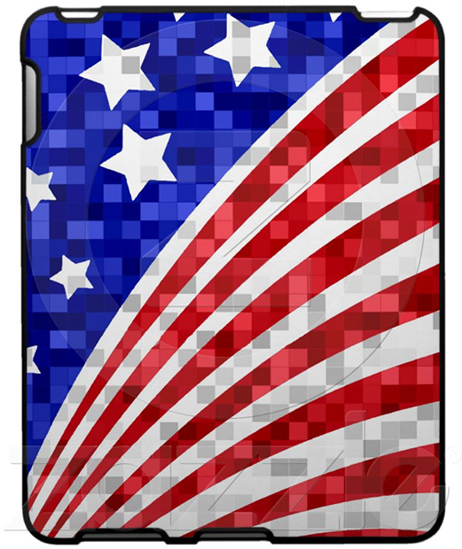 American Flag Apple iPad Case