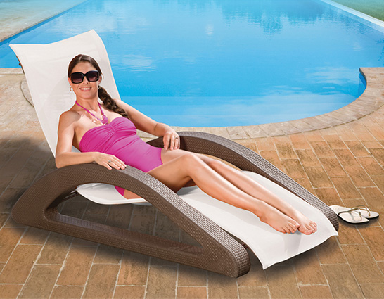 Amphibious Chaise Lounge Chair
