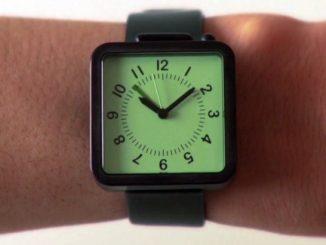 Analarm watch